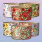 Формы для пасок Цветы 130*85